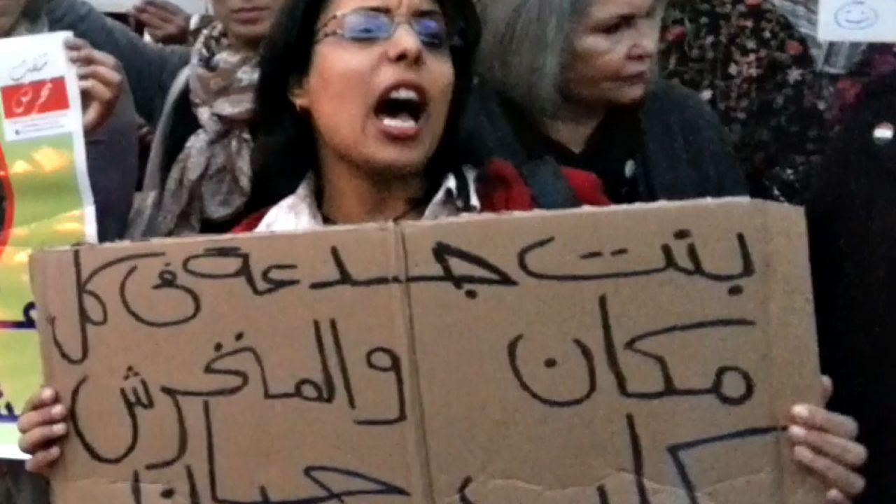 Demonstrasjon i Kairo 12.2.2013