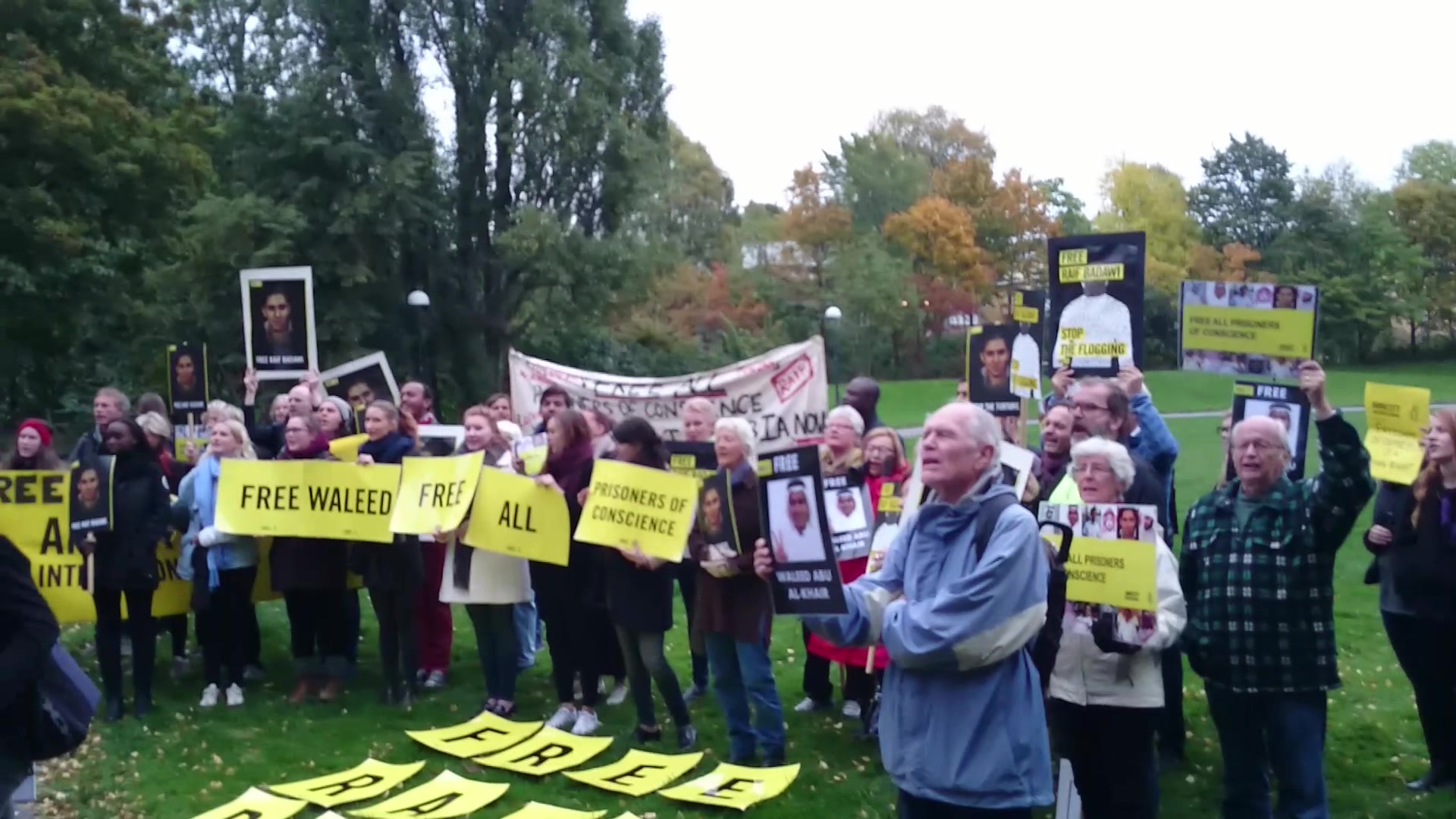 Ønsket fredspris til Raif Badawi